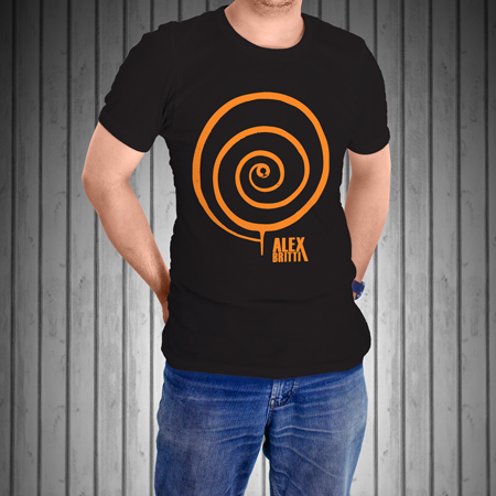 T-Shirt-Manica-Corta-Nera-VORTICE